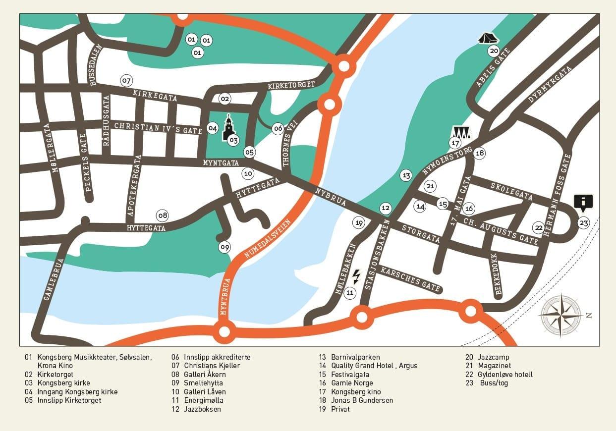 smeltehytta kongsberg kart Venues / Map | Kongsberg Jazzfestival smeltehytta kongsberg kart